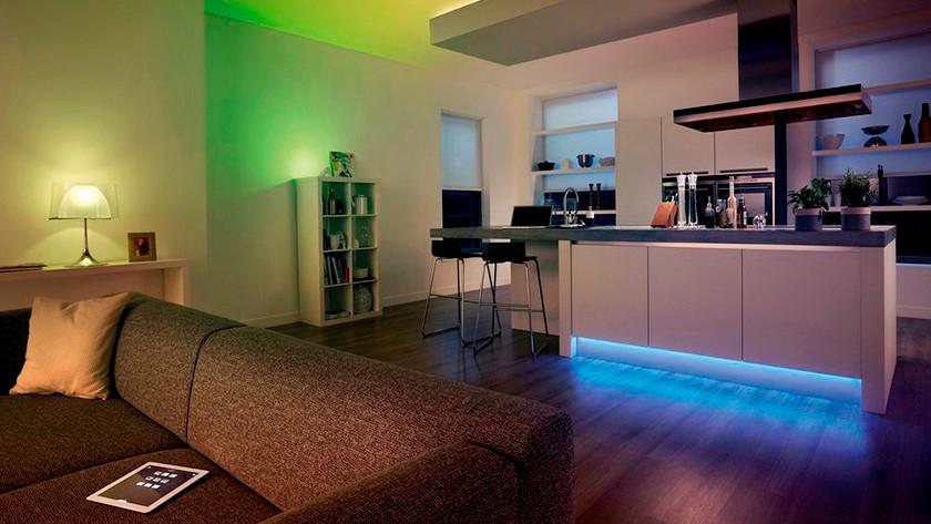 Unterhaltung mit intelligenten Lichtern