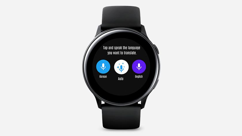 Google Übersetzer auf der Samsung Galaxy Watch Active2