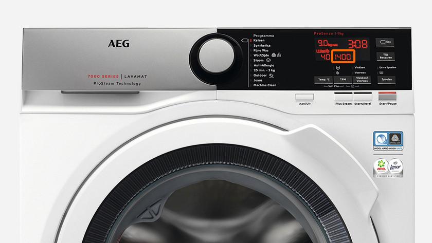 Waschmaschine 1400 Umdrehungen pro Minute