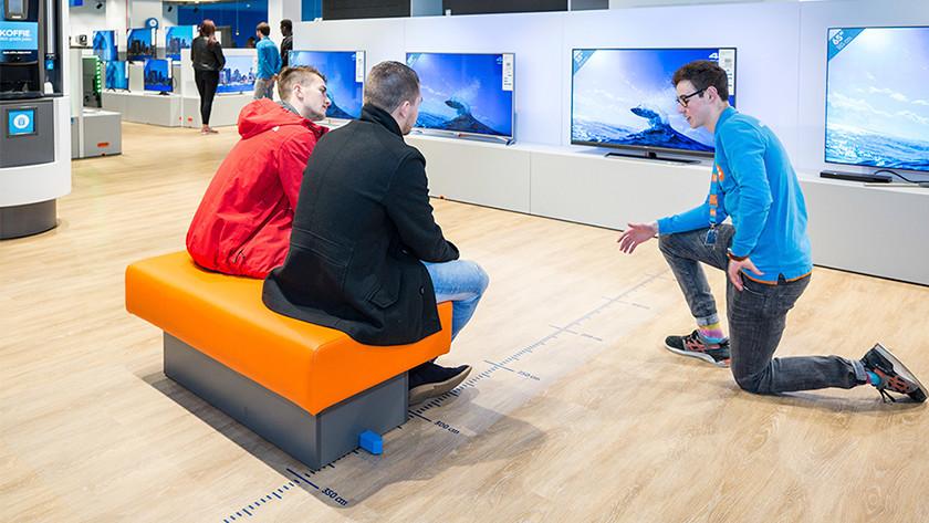 Fernseher wählen Größe und Betrachtungsabstand