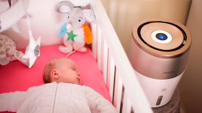 Luftbefeuchter für Babyzimmer