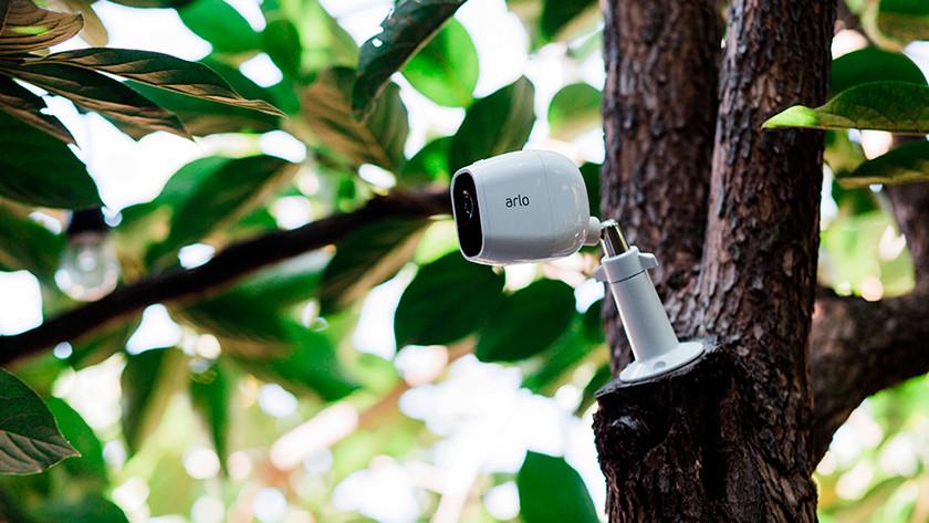 Sicherheit mit einer Kamera