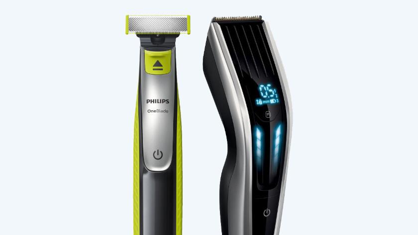 Hybrid-Trimmer mit Haarschneider