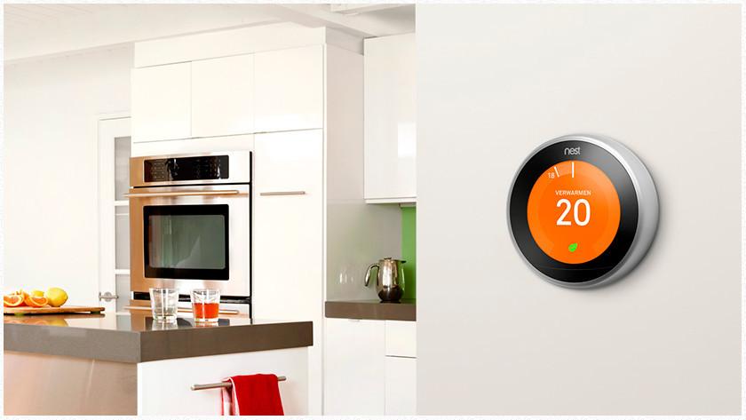 Steuern Sie den Nest-Thermostat mit Google Assistant