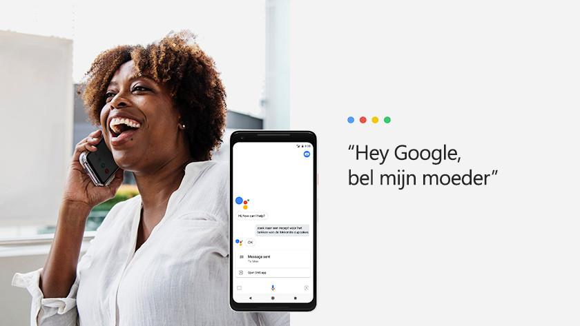 Telefonieren und Nachrichten versenden mit Google Assistant