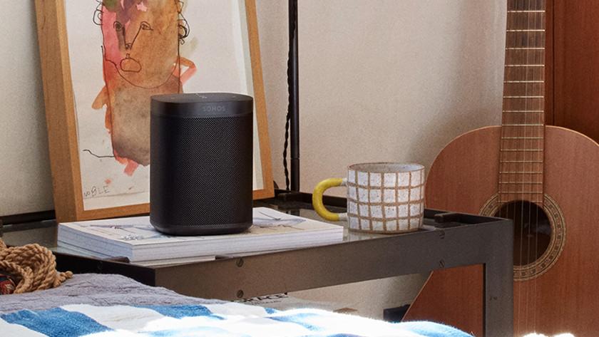 WLAN-Lautsprecher in der Verwendung