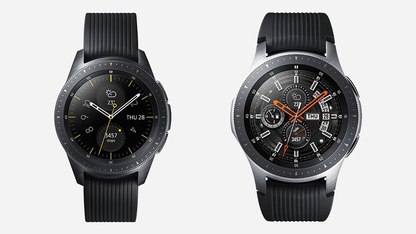 Samsung Galaxy Watch Größe