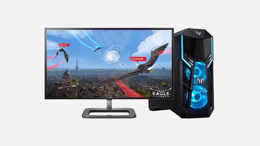 VR-Spiel Eagle auf dem PC.