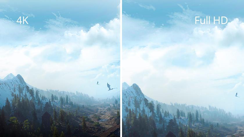 Unterschied zwischen Full-HD- und 4K-Auflösung