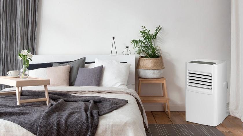 Mobile Klimaanlage im Zimmer