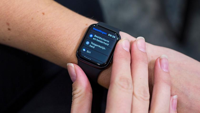 Unterstützung beim Einrichten der Apple Watch