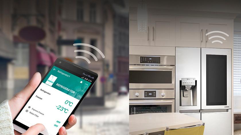 Kühlschrank mit App bedienen