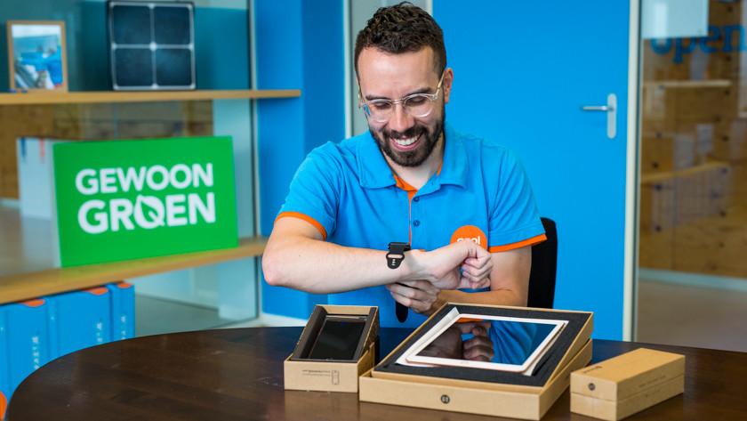 Loslegen mit einer generalüberholten Apple Watch am Handgelenk