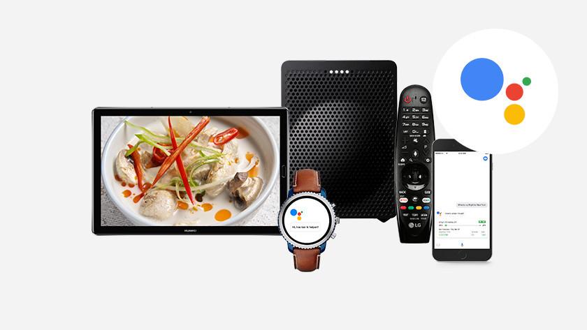 Geräte mit Google Assistant