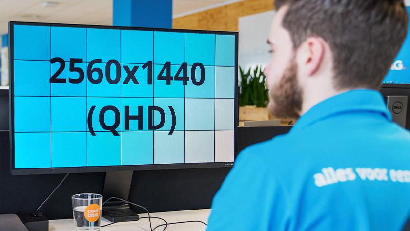 QHD-Monitor 1440p