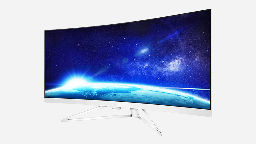 Curved Screen Bildschirm Bild 2 Bildschirme Dual Ultrawide Bildschirm 16:9 Größe