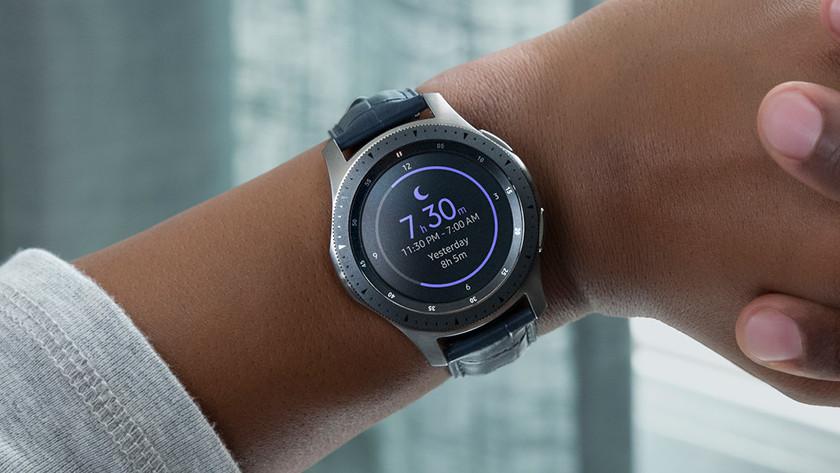 Samsung Galaxy Watch Herzfrequenzmesser Schlafmessung