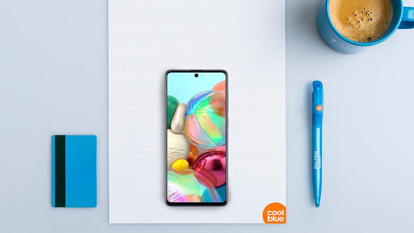 Samsung Galaxy A71 formaat
