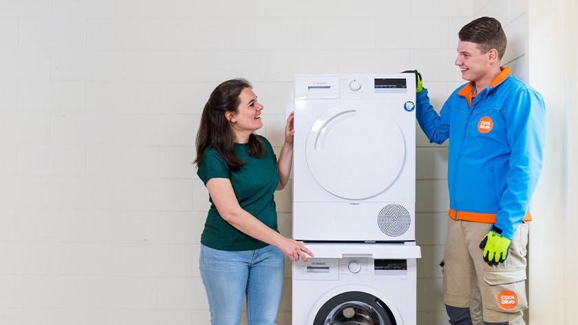 Zwischenbaurahmen für deine Waschmaschine und deinen Wäschetrockner