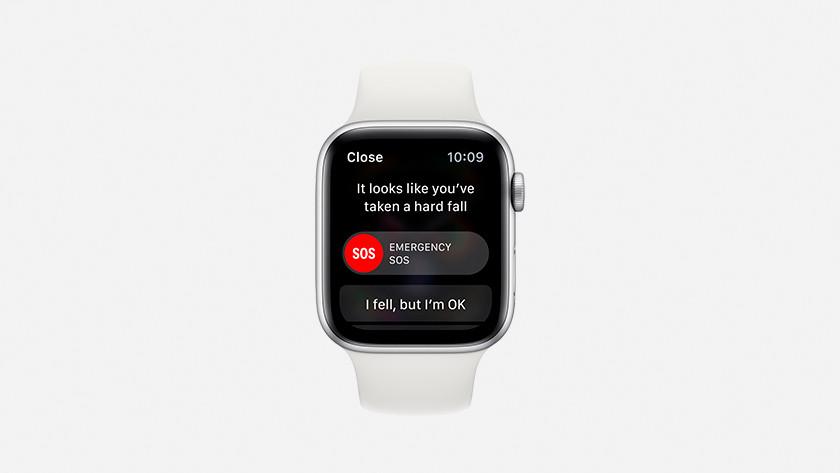 Apple Watch Series 4 Sturzerkennung