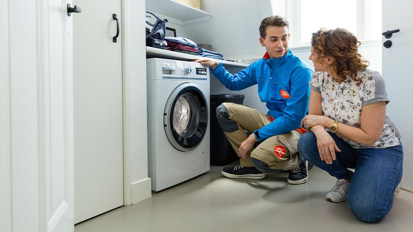 Waschmaschine installieren