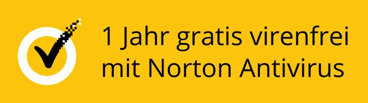 1 Jahr lang kostenlos virenfrei mit Norton Antivirus