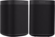 Sonos One Duo Pack Schwarz