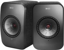 KEF LSX Wireless Stereo System Schwarz