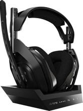 Astro A50 kabelloses Gaming-Headset + Basiststation für PS5, PS4 - Schwarz