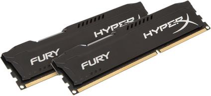 Kingston HyperX FURY 16GB DDR3 DIMM 1866 MHz Schwarz (2x8GB)