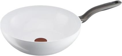 Tefal Ceramic Control White Induction Wokpfanne 28 cm