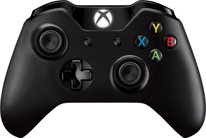 Microsoft Xbox One kabelloser Controller in Schwarz