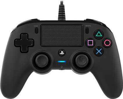 Nacon PS4 Official Wired Controller in Schwarz