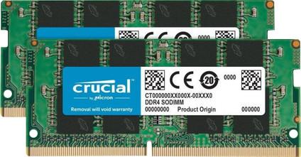 Crucial 16GB DDR4 SODIMM 2.400 MHz Kit (2x8GB)