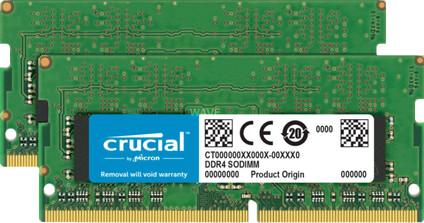 Crucial Apple 16GB DDR4 SODIMM 2.400 MHz Kit (2x8GB)