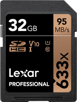 Lexar SDHC Professional UHS-I 633x, 32 GB