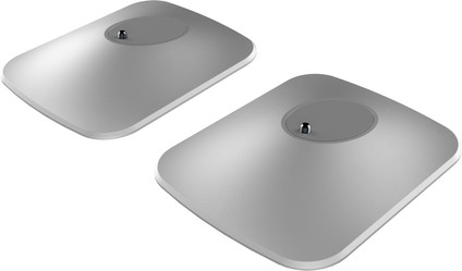 KEF P1 LSX Tischstandfuß Silber pro Paar