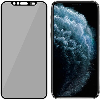 PanzerGlass Privacy Camslider iPhone X / Xs / 11 Pro Displayschutzglas schwarz