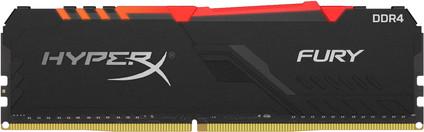 Kingston HyperX Fury RGB 16GB DDR4 DIMM 2.666 MHz CL16 (1x16 GB)