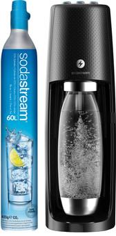 SodaStream Spirit One Touch Schwarz