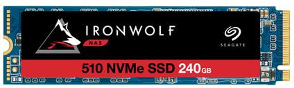 Seagate IronWolf 510 NVMe M.2 NAS SSD, 240 GB