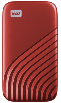 WD My Passport 500 GB SSD Red