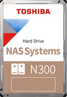 Toshiba N300 NAS Hard Drive 16 TB (512 MB)