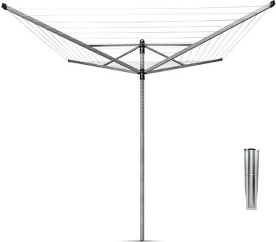 Brabantia Lift-o-Matic Wäschespinne 40 Meter + Anker