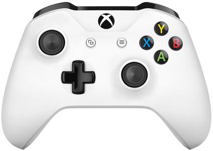 Microsoft Xbox One kabelloser Controller in Weiß