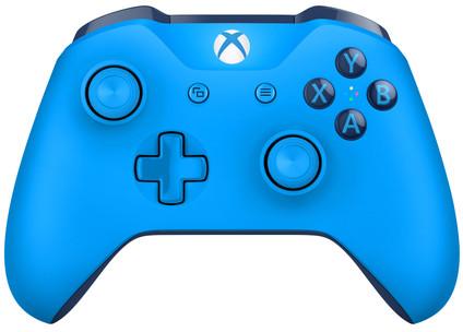 Microsoft Xbox One kabelloser Controller in Blau