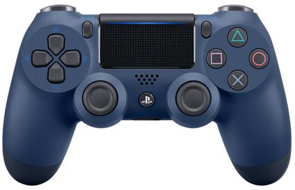 Sony DualShock 4 Controller PS4 V2, Mitternachtsblau
