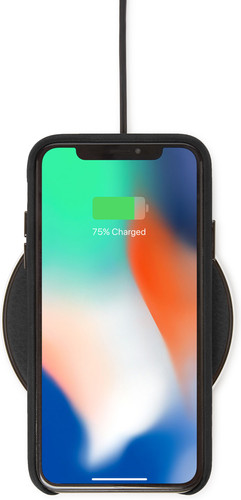 Decoded Leather Wireless Fast Charger Schwarz Main Image