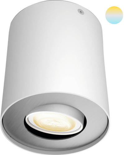 Philips Hue Pillar oberflächenmontierter Spot White Ambiance 1er-Spot Weiß Main Image