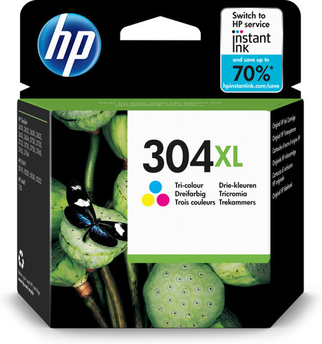 HP 304XL Patronenfarbe Main Image